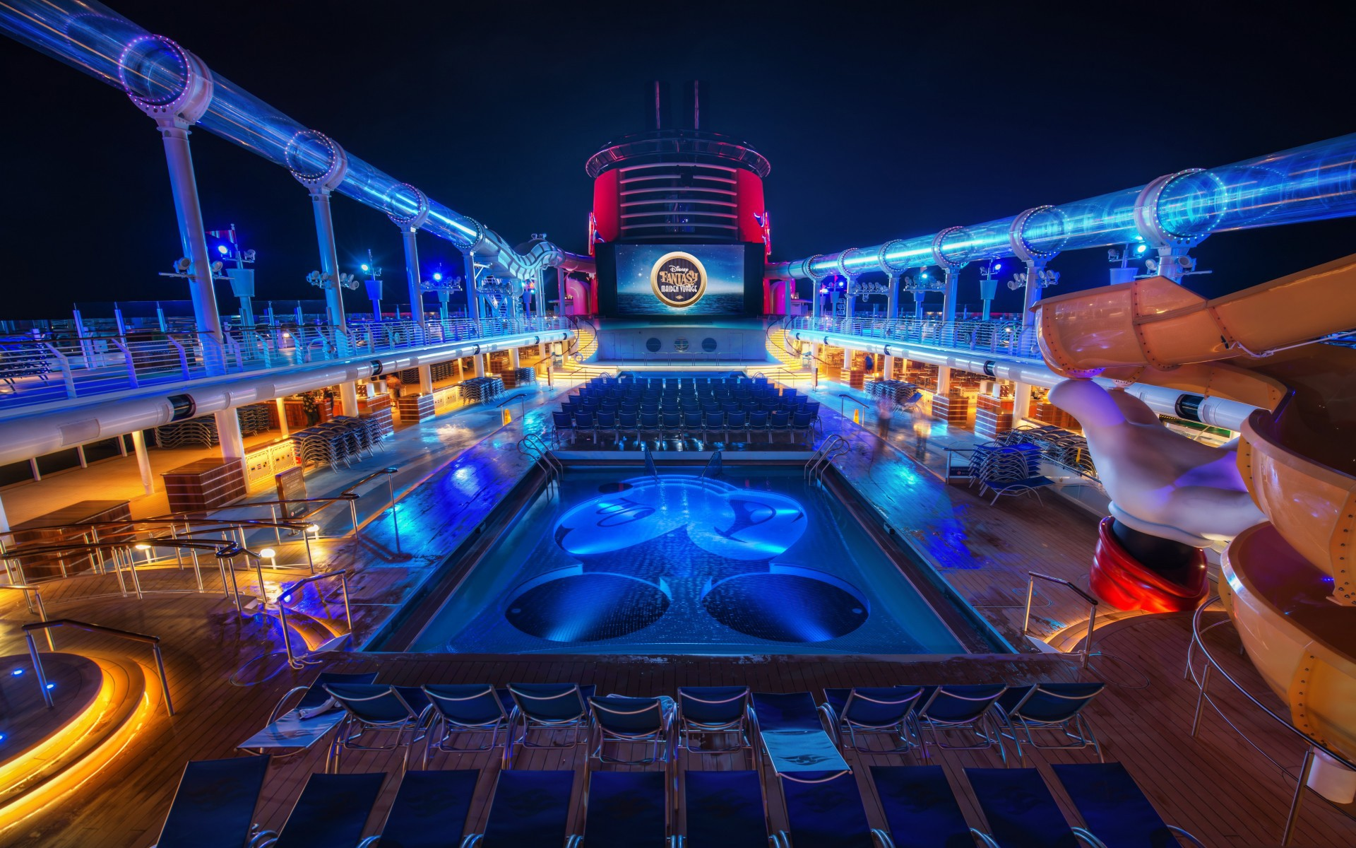 Disney cruise ship hd wallpaper background 1920x1200
