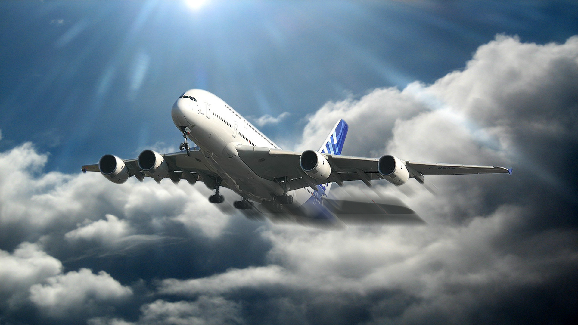28 Airbus A380 HD Wallpapers | Backgrounds - Wallpaper Abyss