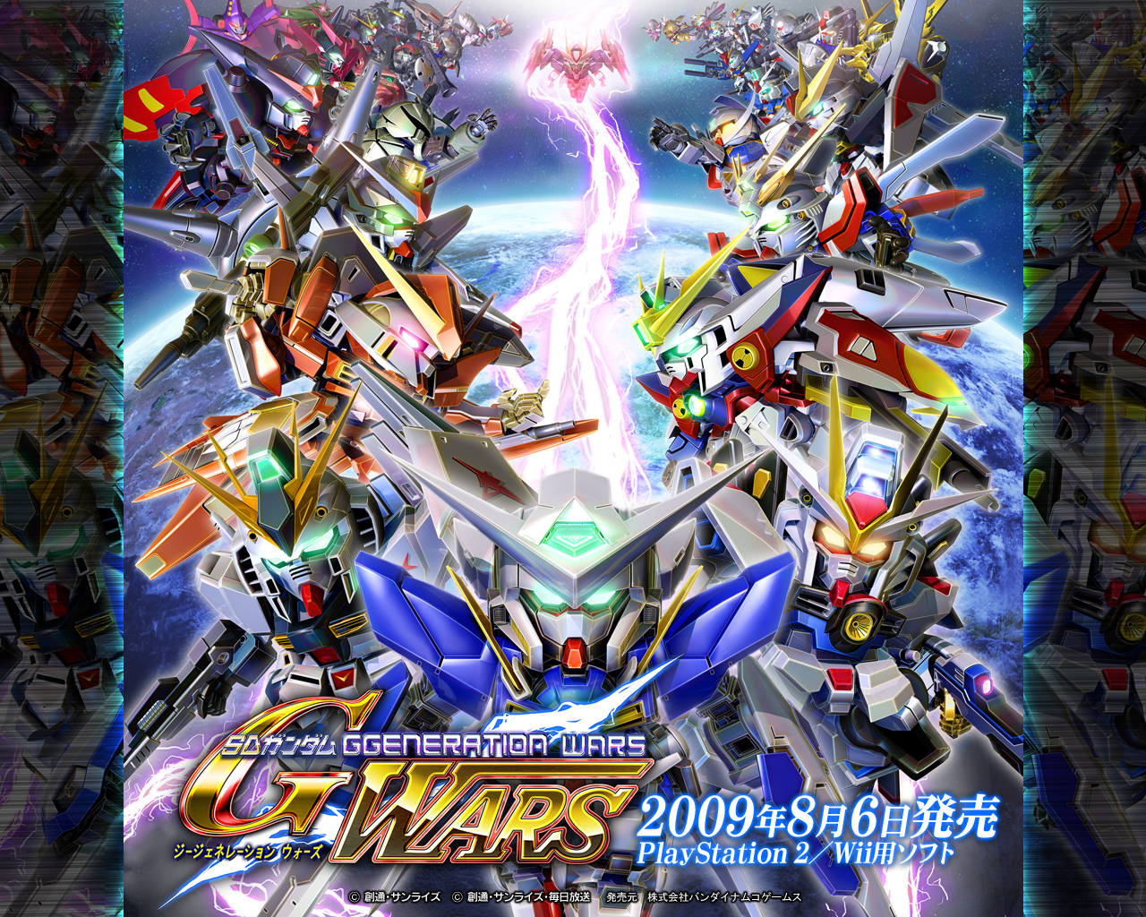 SD Gundam G Generation Wars wallpaper SRW Hotnews 1280x1024
