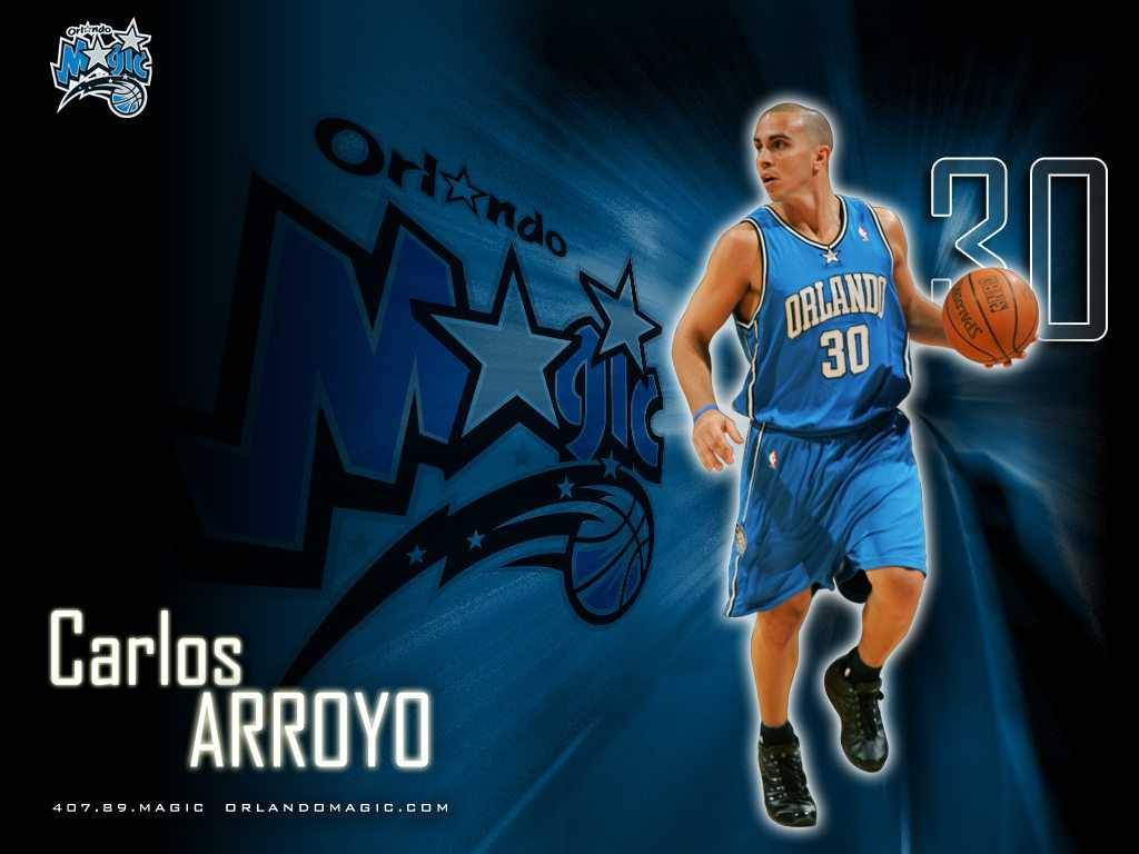 NBA Orlando Magic Arroyo,Carlos Wallpaper - Orlando Magic Wallpaper