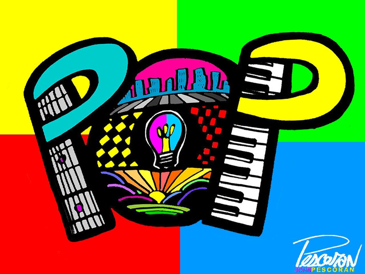 Pop Art Wallpaper JOHN PESCORAN   Pop Art Wallpaper 30799426 1280x960