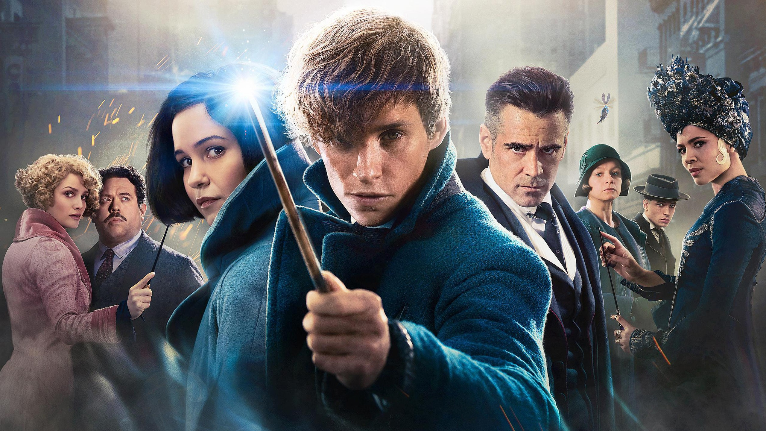 Fantastic Beasts and Where to Find Them K Wallpapers HD rh 2560x1440