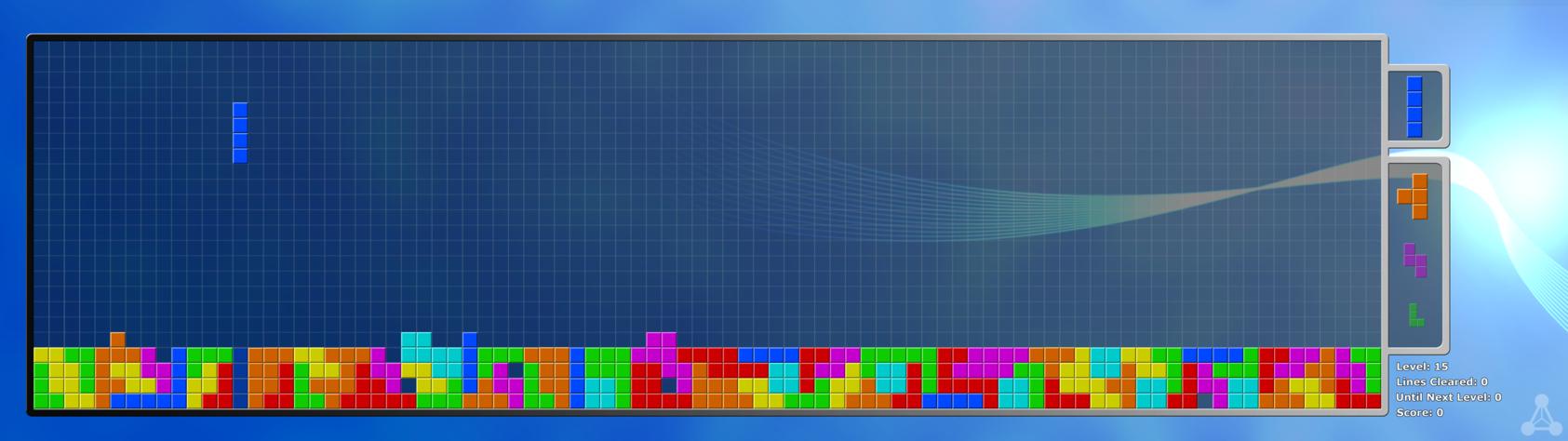Free download Zero Points Tetris Dual Monitor Wallpaper by