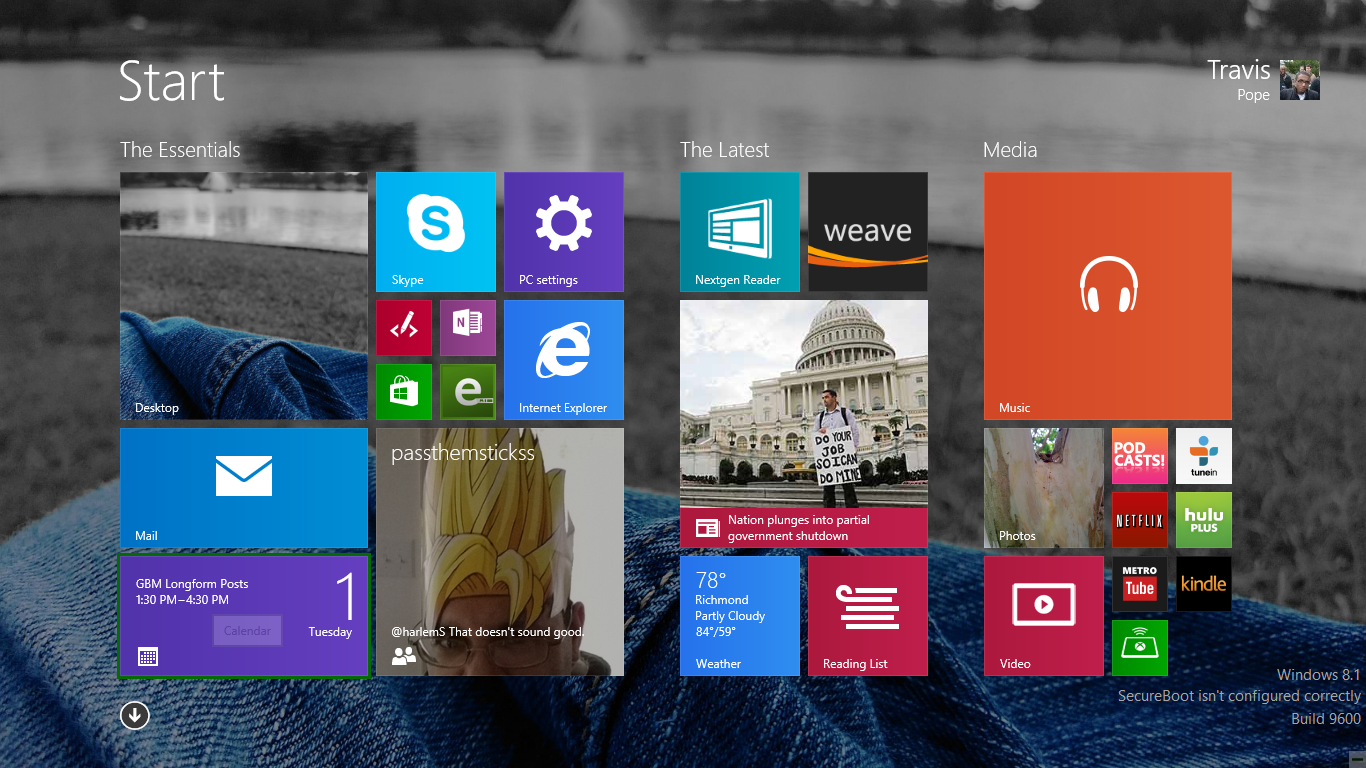 How to Add a Background to the Start Screen in Windows 81 1366x768