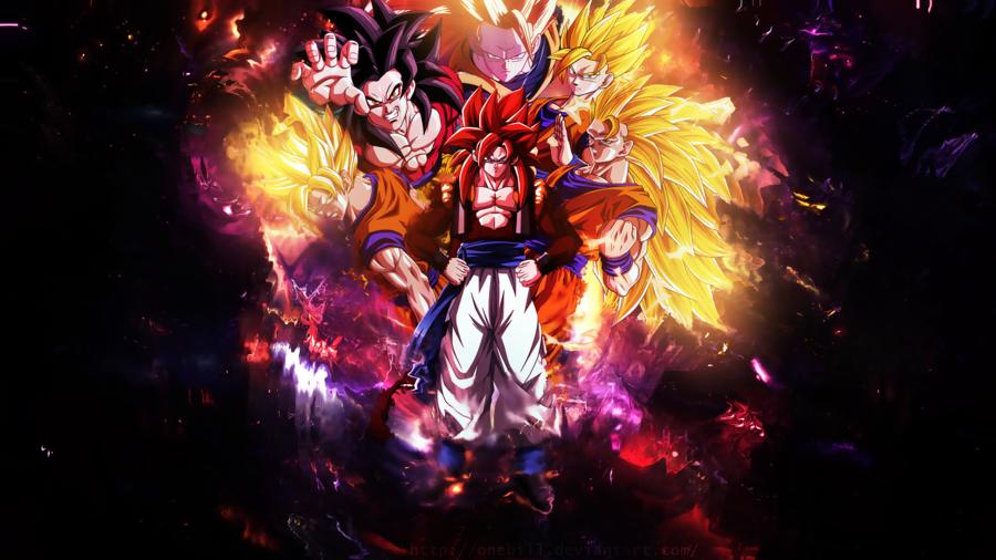 Son Goku Wallpaper2 by OneBill 900x506