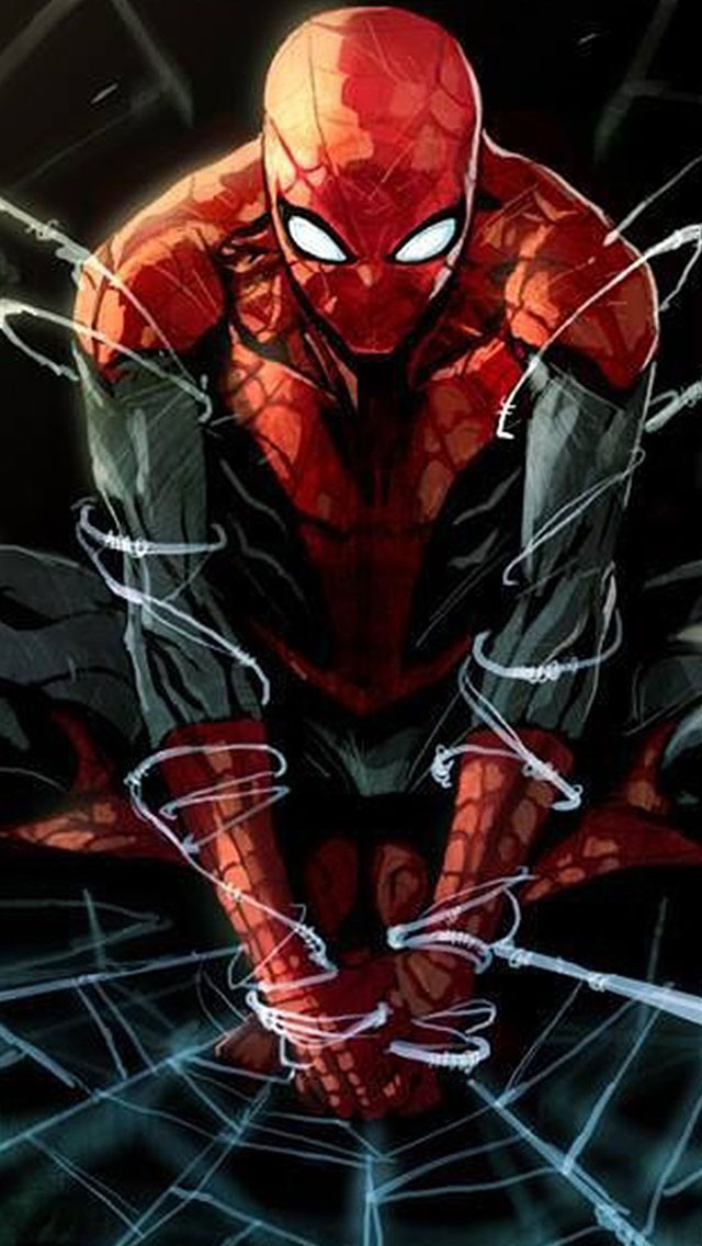 Spider man iphone wallpaper wallpapersafari - Spiderman and ironman wallpaper ...