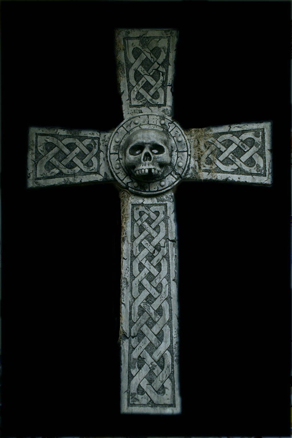 Celtic Skull Wallpaper Celtic skull cross by 1024x1535