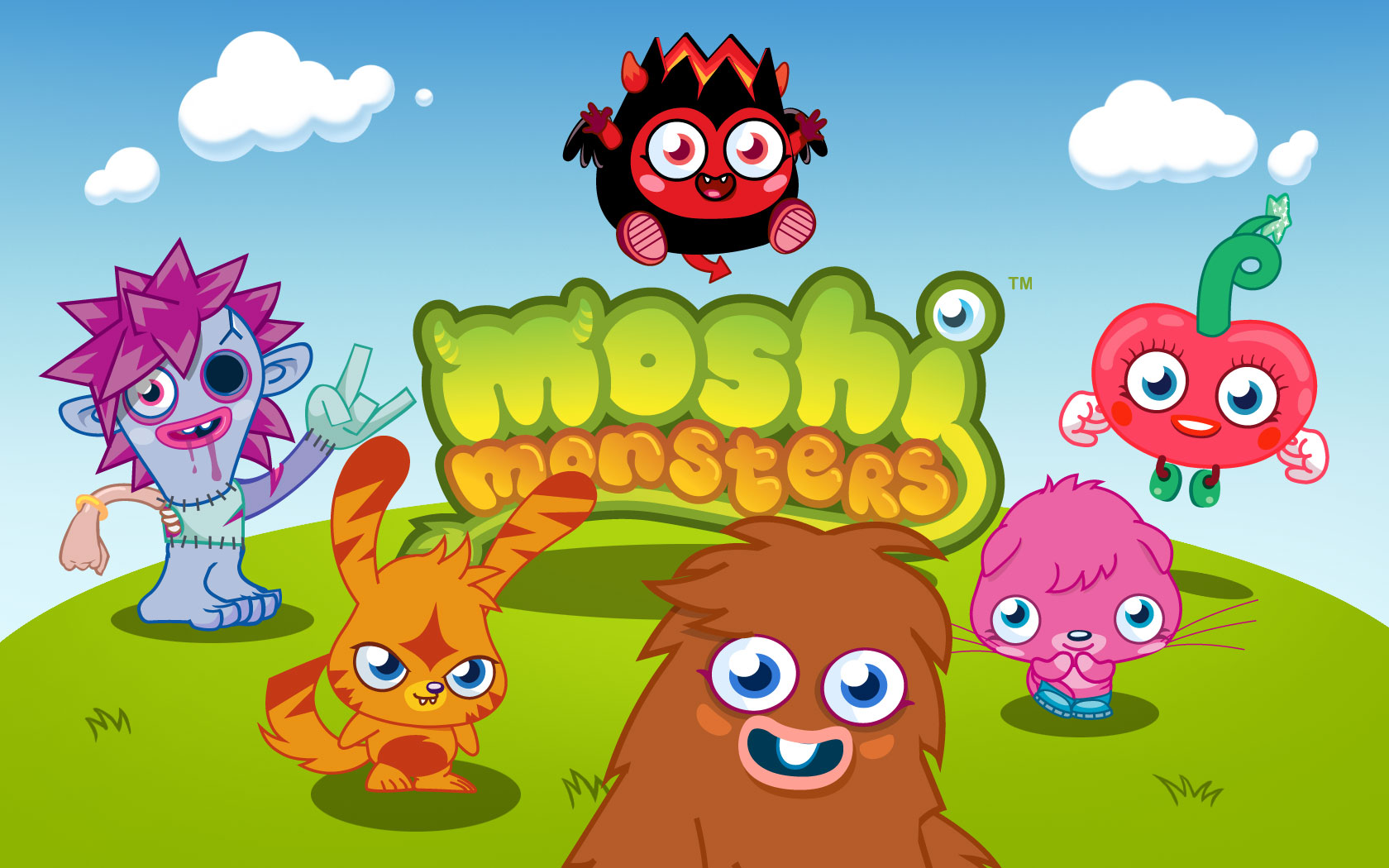 Moshi Monsters The Daily Growl - print-and-play Moshi monster print out pictures