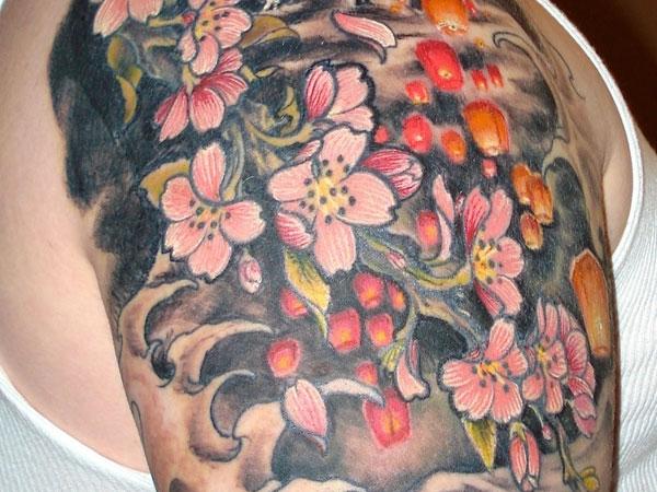 Japanese Background Tattoo   LiLzeu   Tattoo DE 600x450