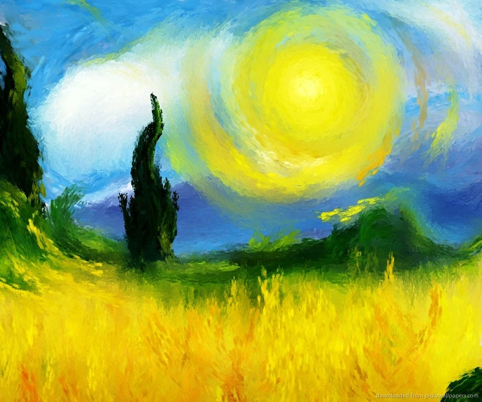 Download Like Vincent Van Gogh Wallpaper For HTC Droid Incredible 960x800