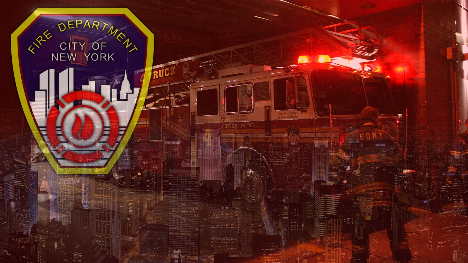FDNY Desktop Wallpaper by BuckHunter7 1600x900