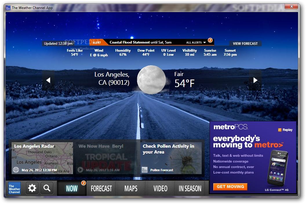 Dual Layer Dvd Weather Channel Desktop 1056x703