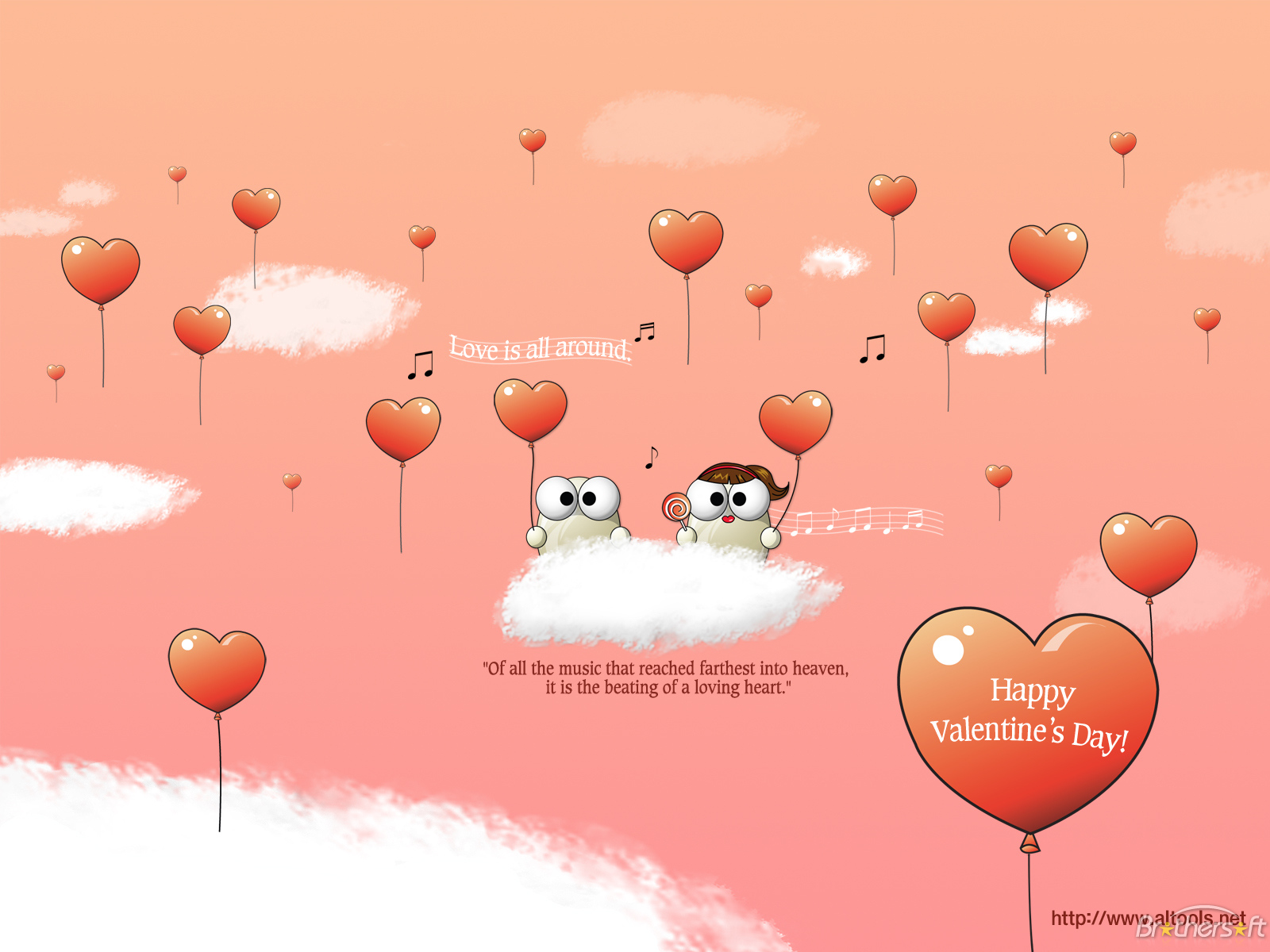 77] Cute Valentines Day Backgrounds on WallpaperSafari 1600x1200