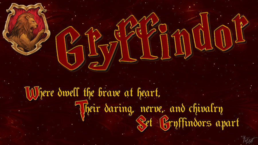 Free Download Hogwarts House Wallpaper Gryffindor By