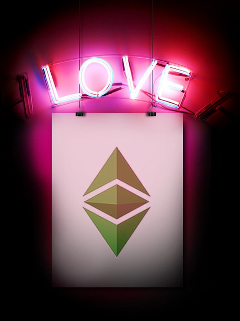 Ethereum Classic Wallpaper   Love Design with love An Eth Flickr 766x1024