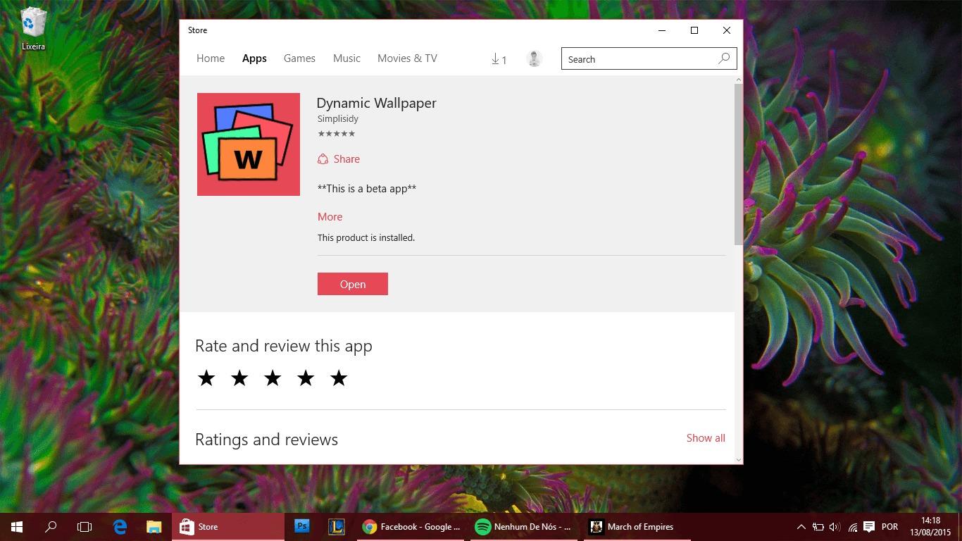 universal baixe em seu Windows 81 Windows Phone Windows Mania 1366x768