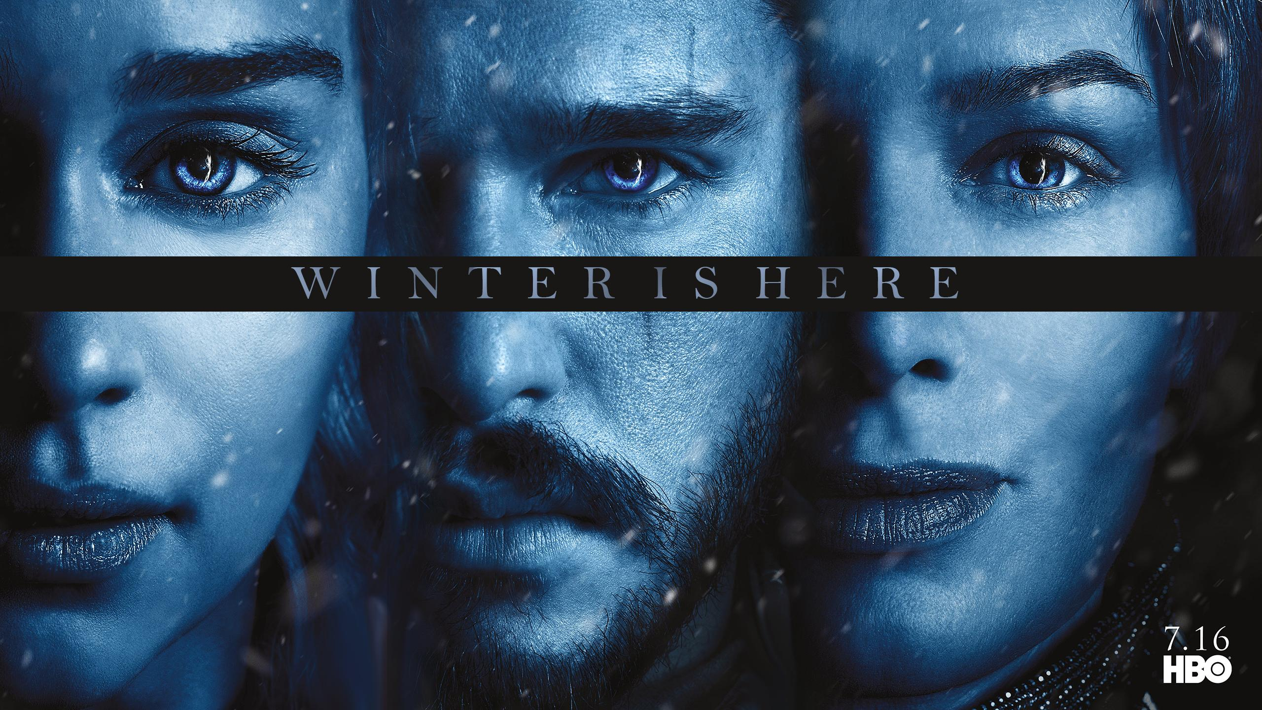 S7] Game Of thrones Season 7 Posters Wallpaper 2560 x 1440 1080p 2560x1440