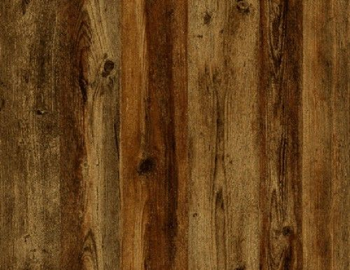 Wallpaper Vertical Wood Plank Siding RED Brown TAN Rust Looks Real UP 500x386