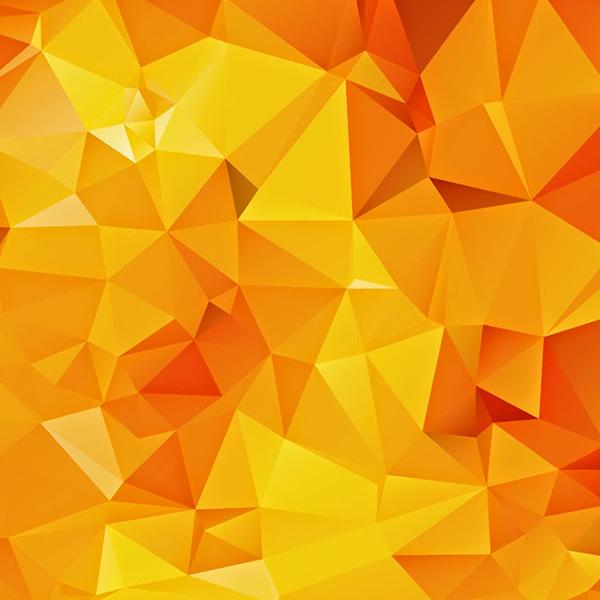 Orange Geometric Wallpaper