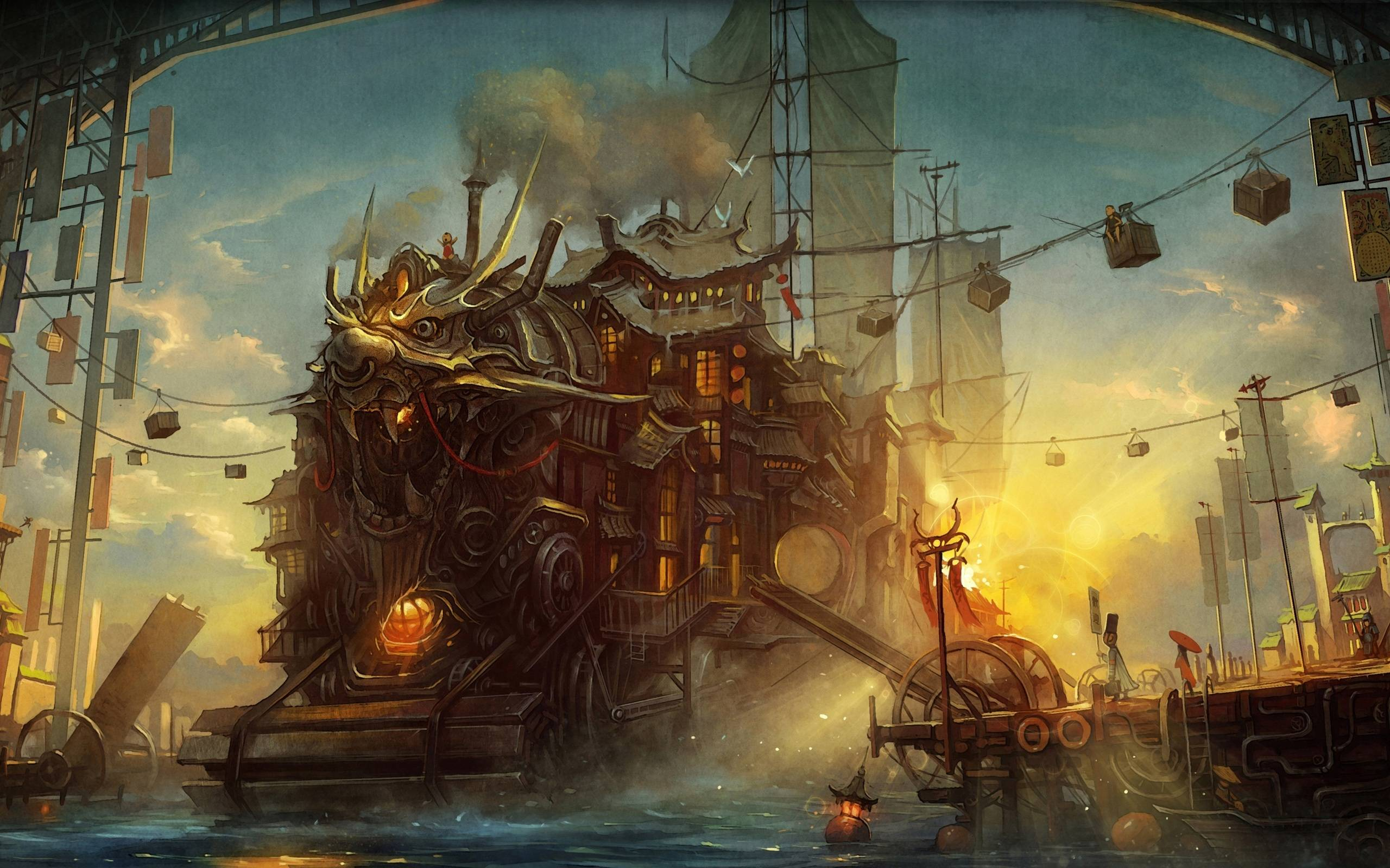 Steampunk Wallpapers 2560x1600
