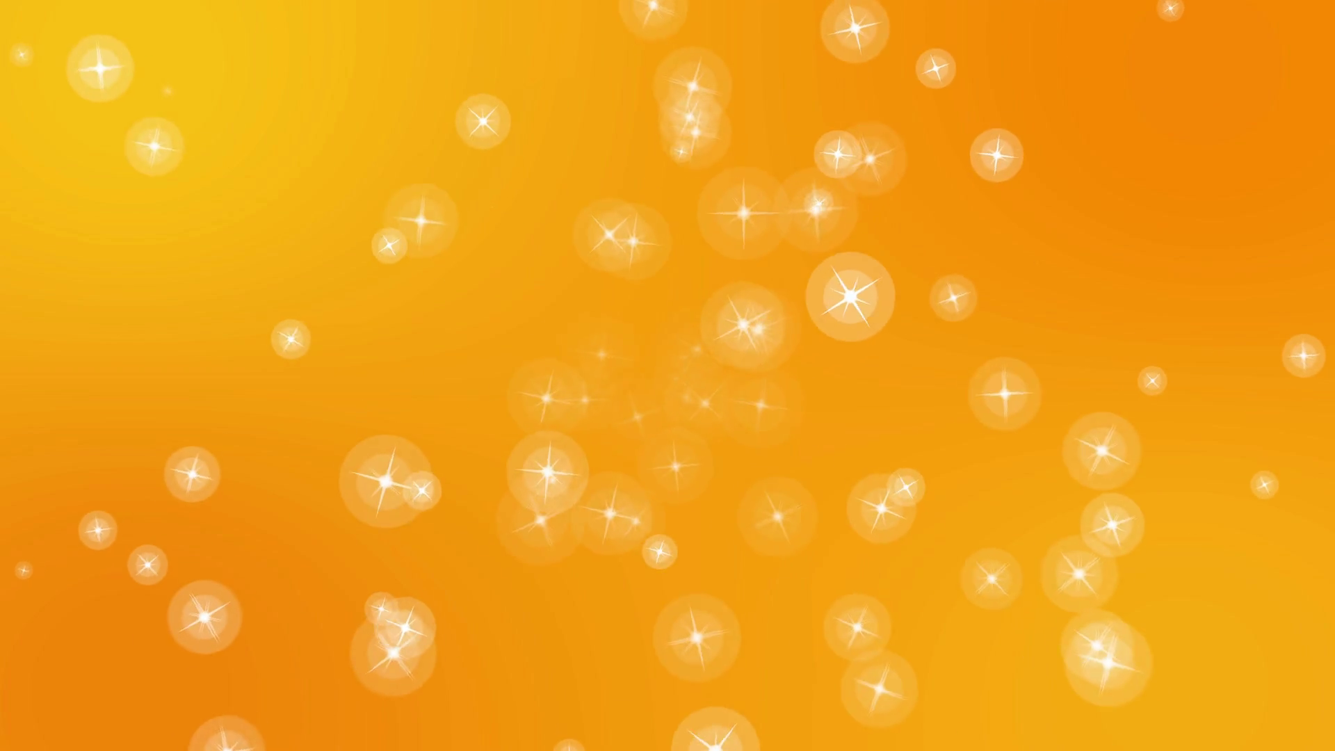 4k christmas stars festive cute motion background Orange Motion 1920x1080