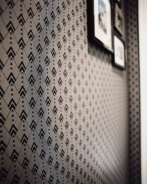 vinyl temporary removable wallpaper wall decal   Diamond blackwhite 476x594