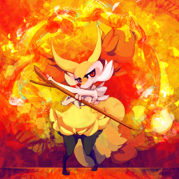 SD 07122013 Braixen by mopomoko 600x600