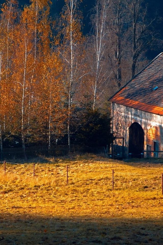 Fall Farm Desktop Wallpaper - WallpaperSafari