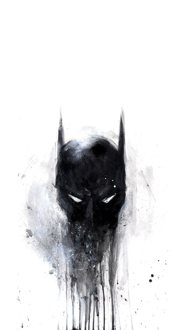Batman Scary Painting Wallpaper wallpaper wallpapers 606x1080