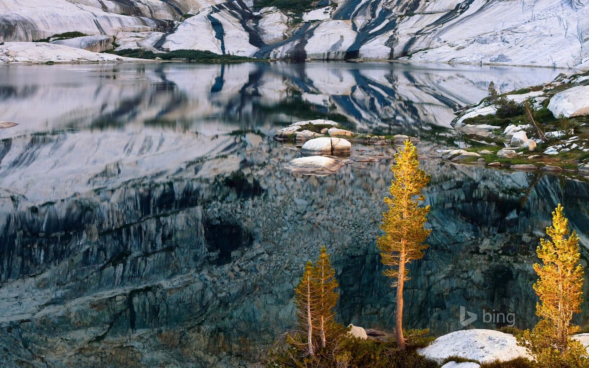Pear lake sequoia national park california usa lake mountains 1920x1200