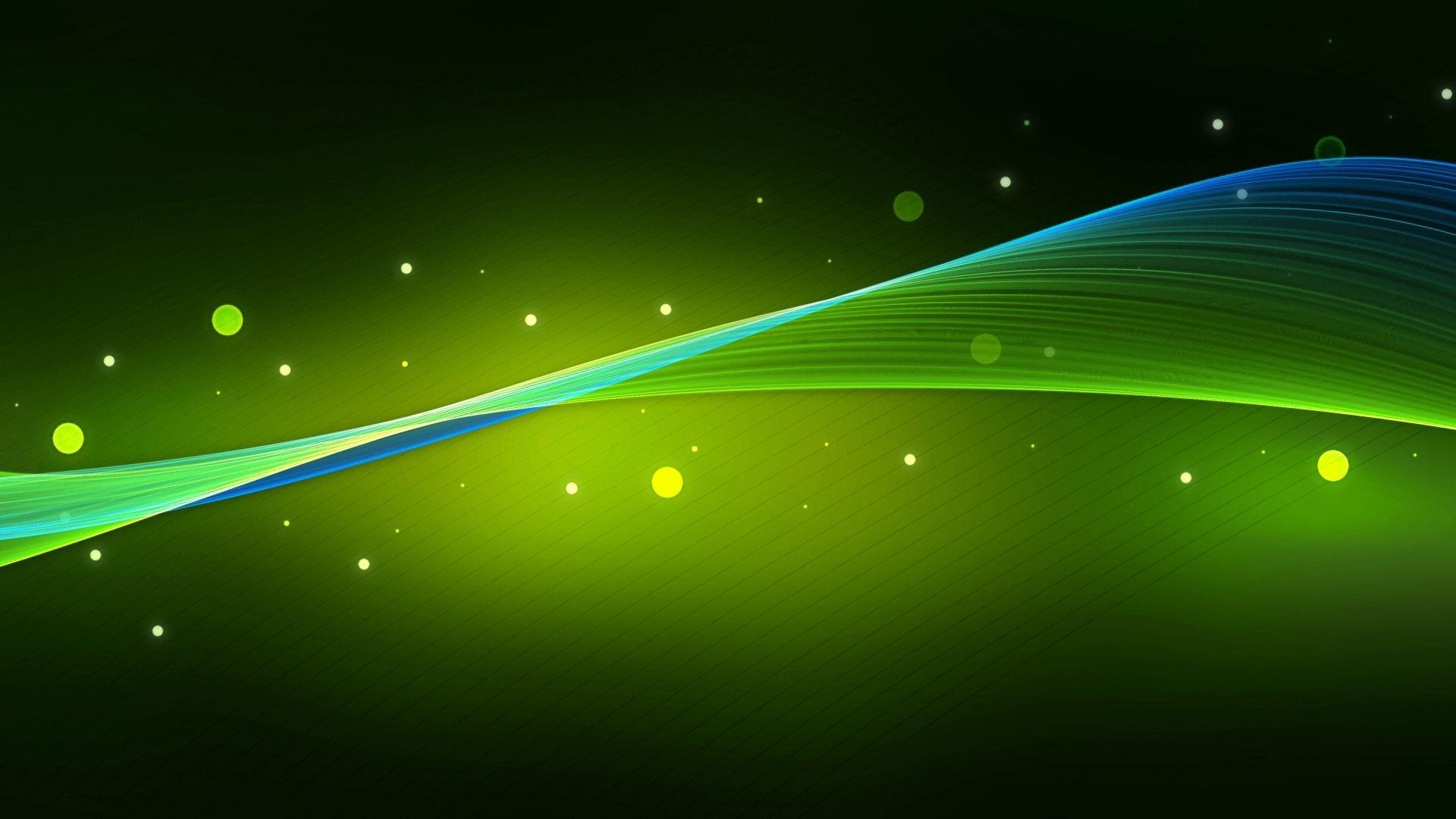 [41+] Green Wallpaper 1920x1080 on WallpaperSafari Abstract Green Desktop Wallpaper
