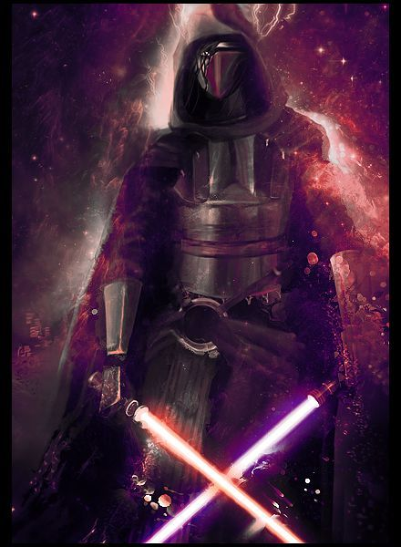 Star Wars Revan Phone Wallpaper