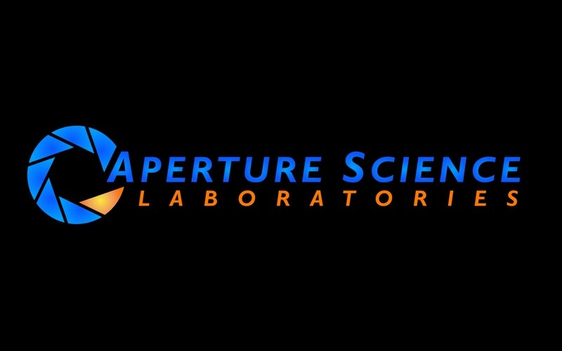 Aperture Laboratories portal aperture laboratories 1440x900 wallpaper 800x500