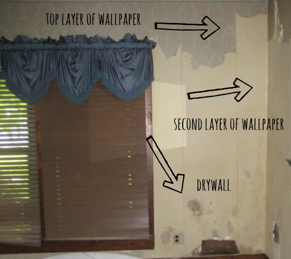 The Best Way to Remove Wallpaper   Thistlewood Farm 567x506