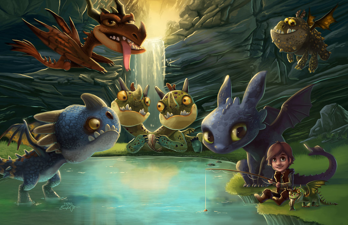 Free Download Httyd Dragons Dinner Party By Tsaoshin
