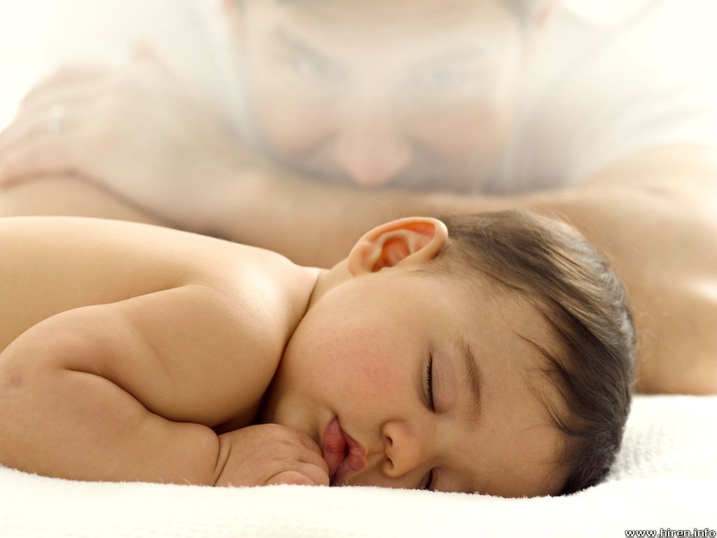 innocent baby boy sleeping wallpaper 1024x768