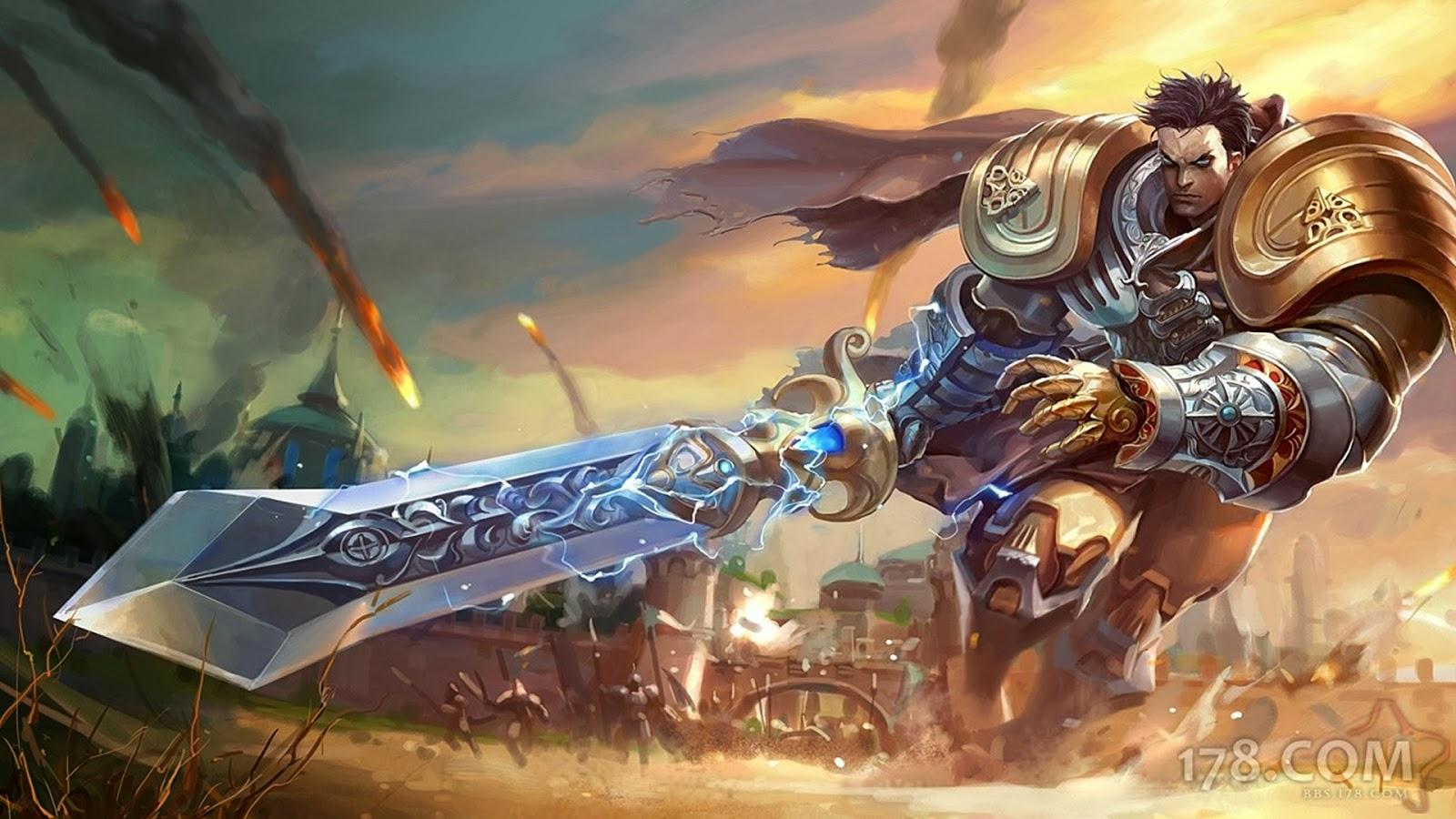 Garen League of Legends Wallpaper, Garen Desktop Wallpaper