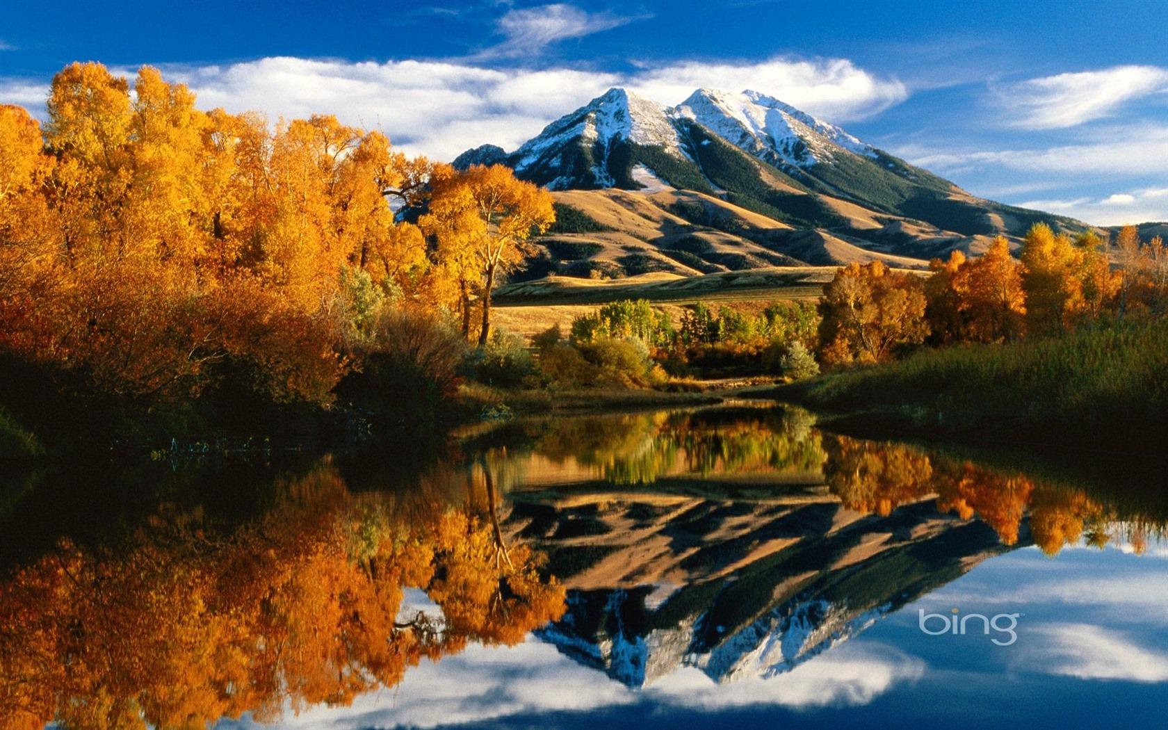 mountain lake widescreen HD wallpaper   1680x1050 Wallpaper Download 1680x1050