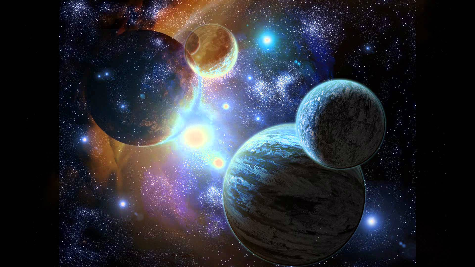 Epic Space Wallpapers - YouTube