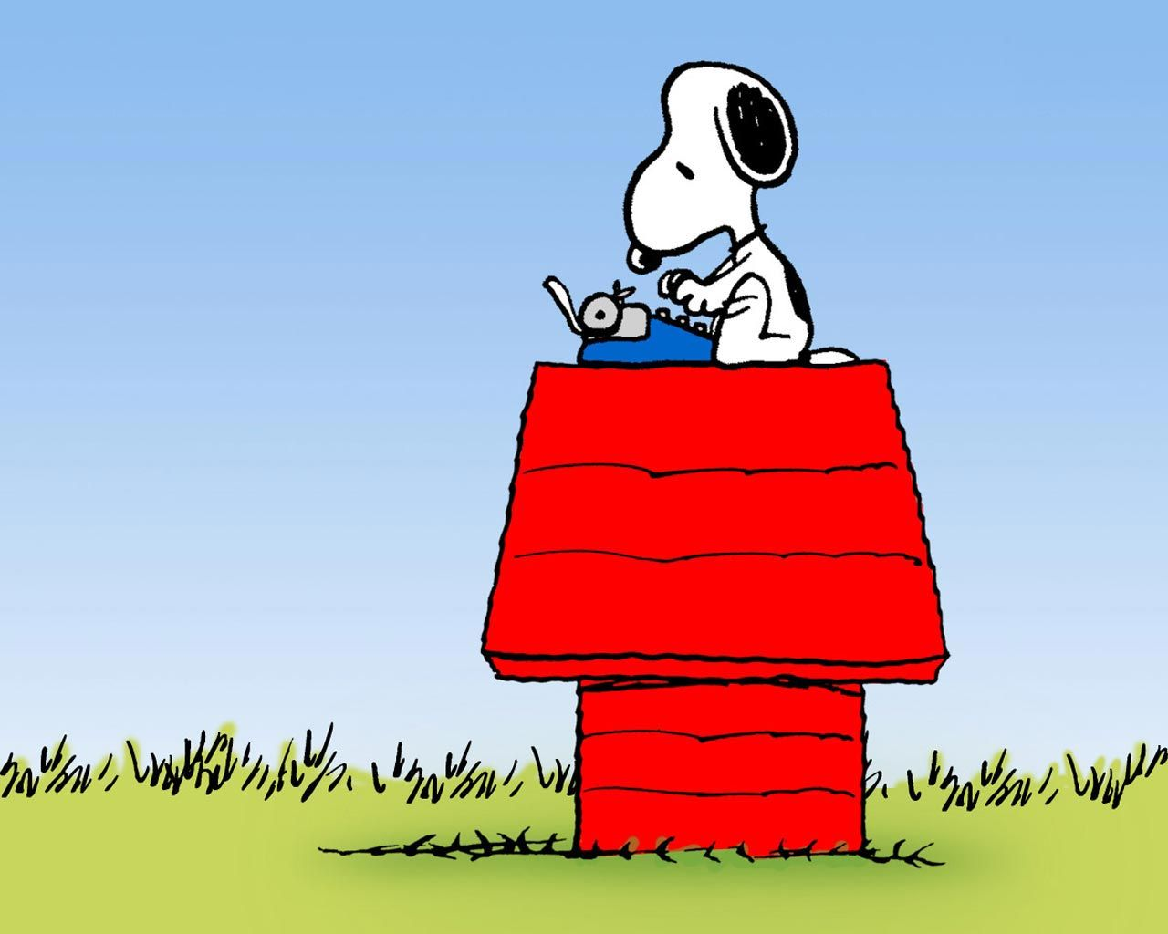 Snoopy Spring Desktop Wallpaper loopele 1280x1024