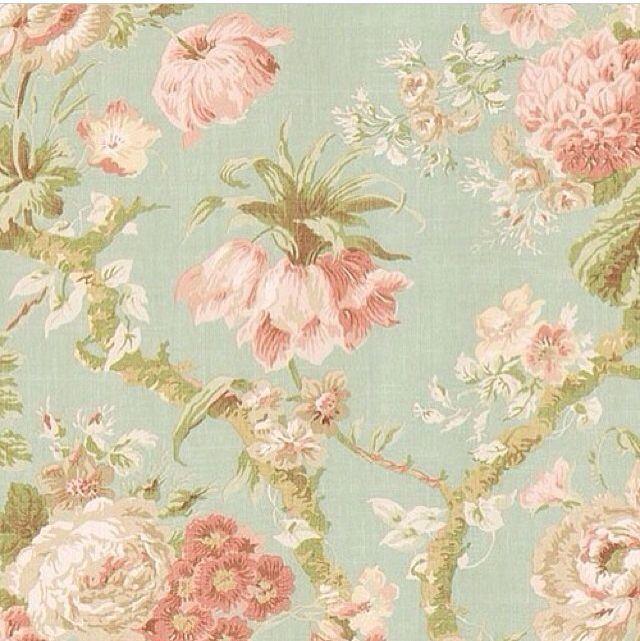 Vintage Flower Wallpaper Pattern