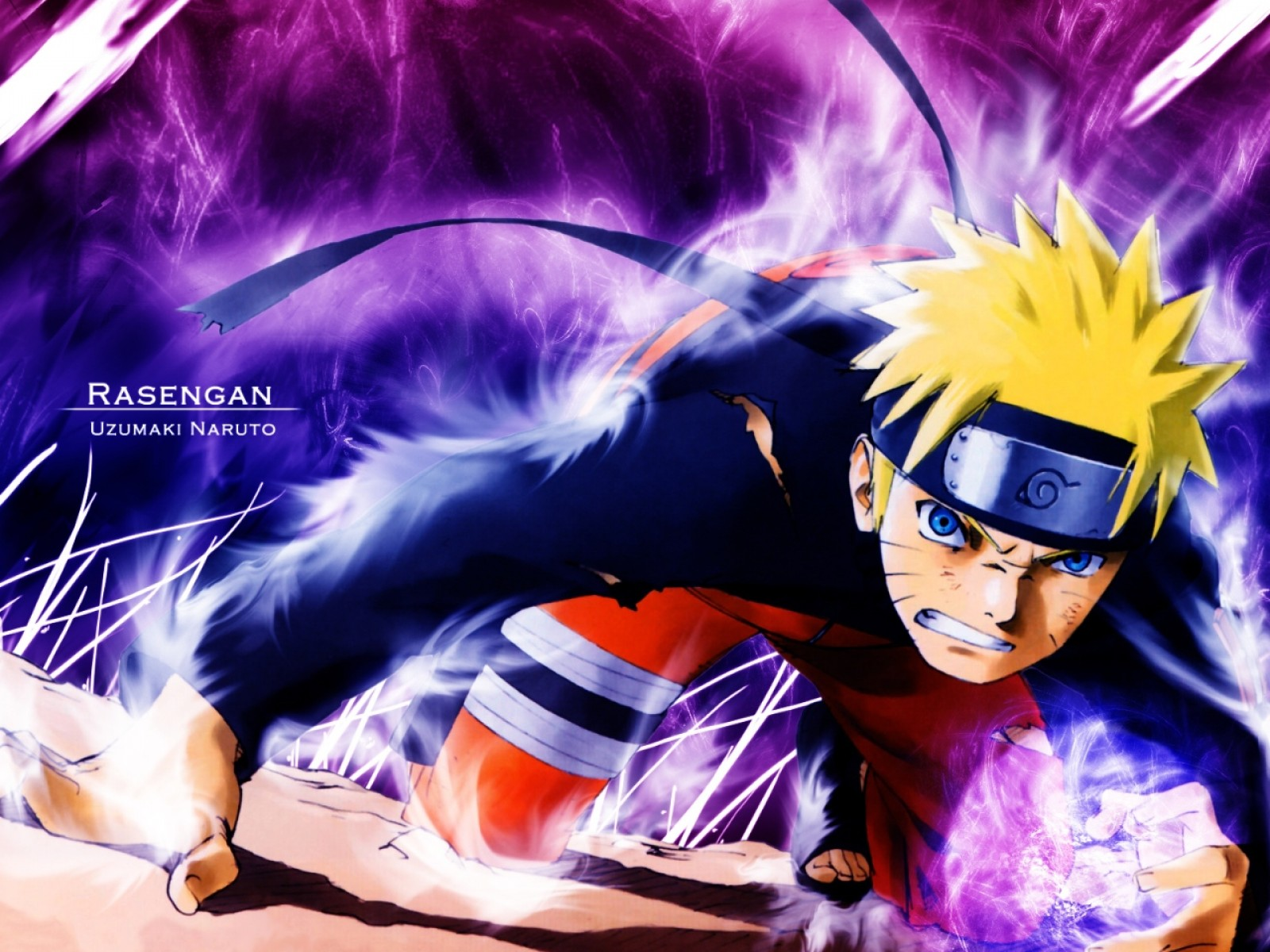Naruto Shippuden   Rasengan HD Wallpaper Animation 1600x1200