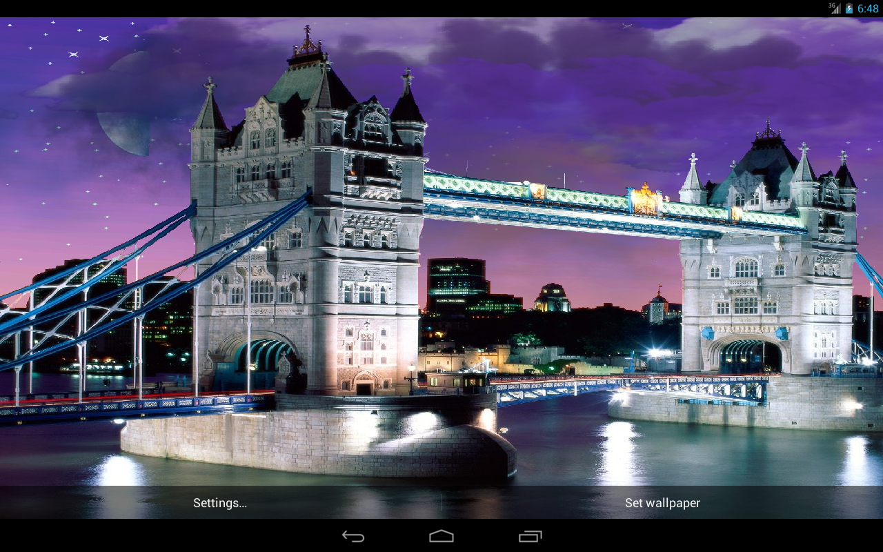 city night live wallpaper is a beautiful live wallpaper of the top 1280x800