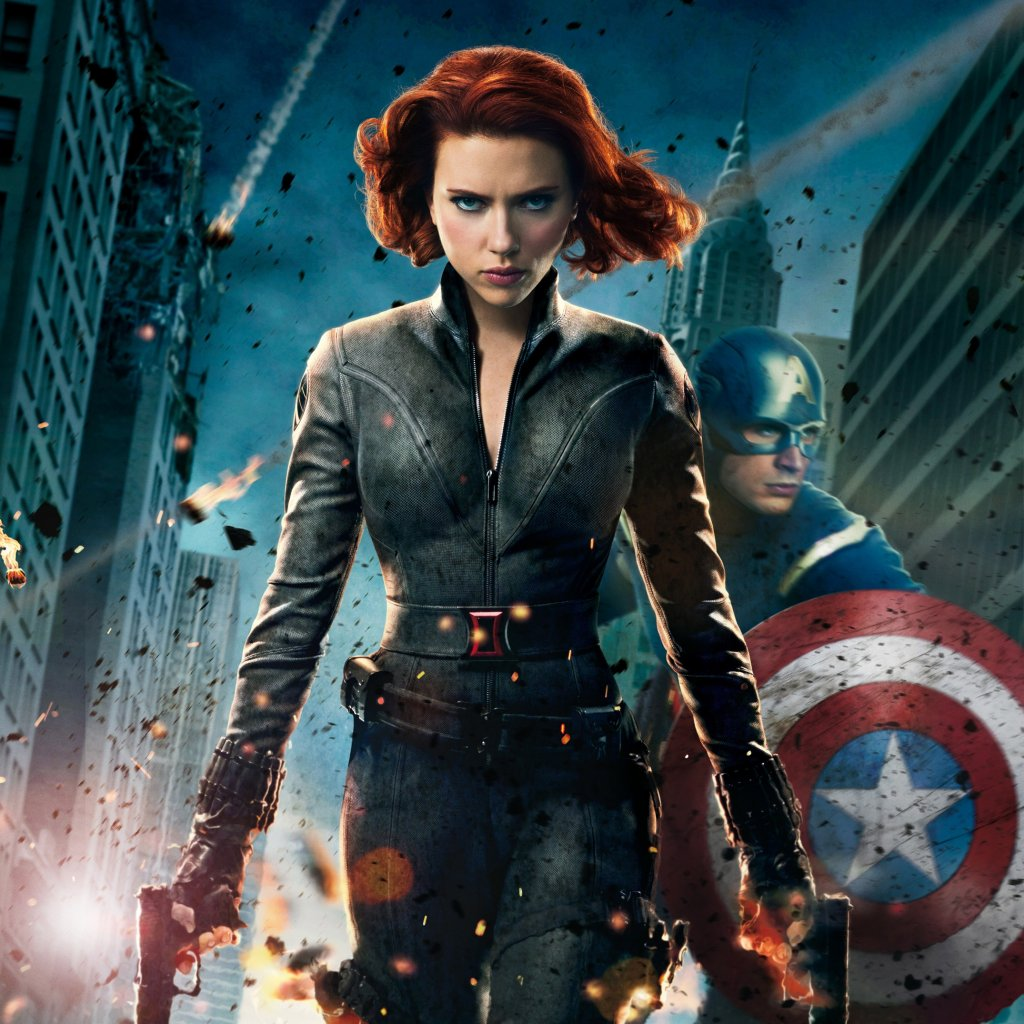avengers avengers assemble black widow scarlett johansson the avengers 1024x1024
