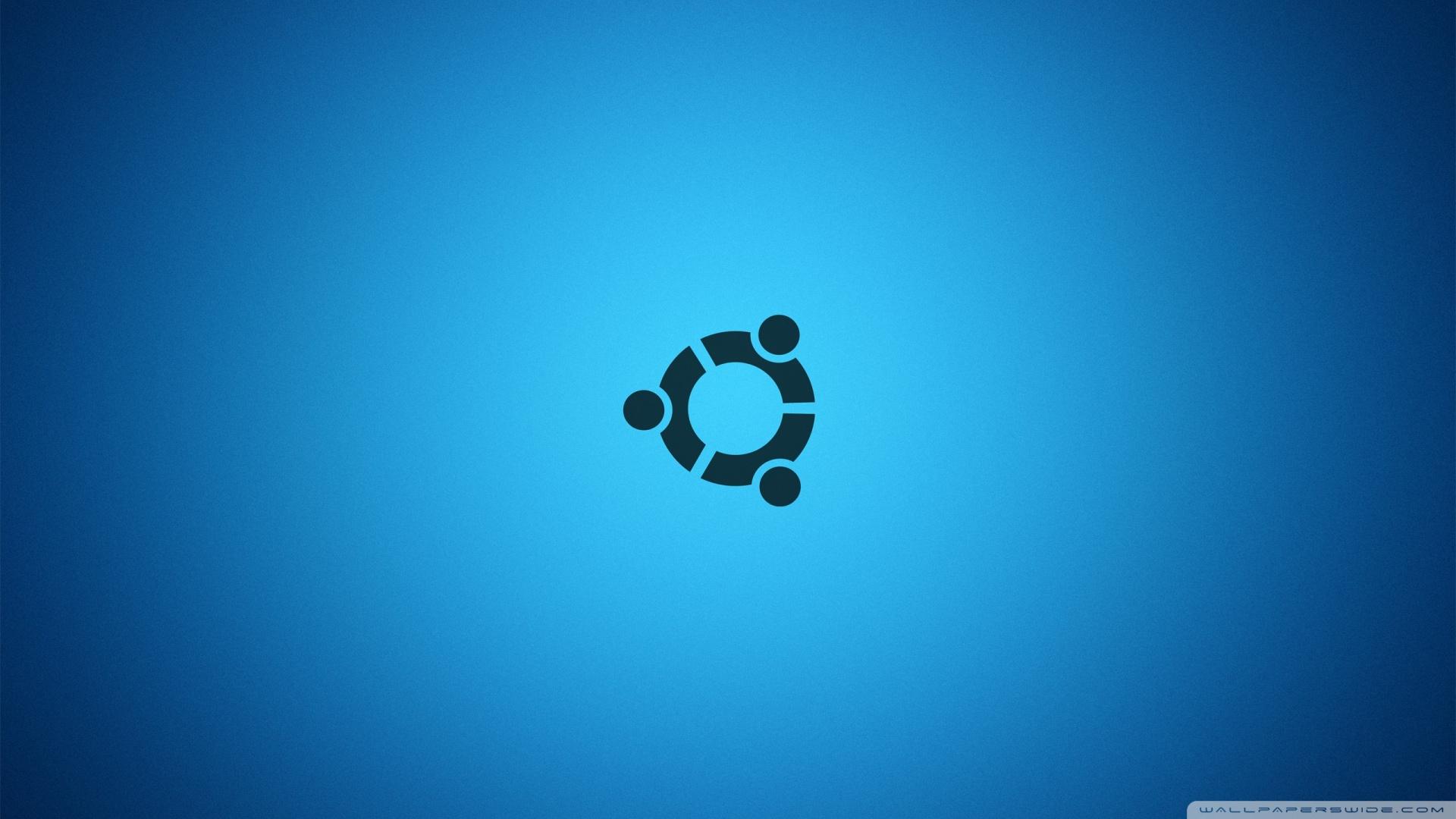 Ubuntu Desktop Blue Wallpaper 1920x1080 Ubuntu Desktop Blue 1920x1080