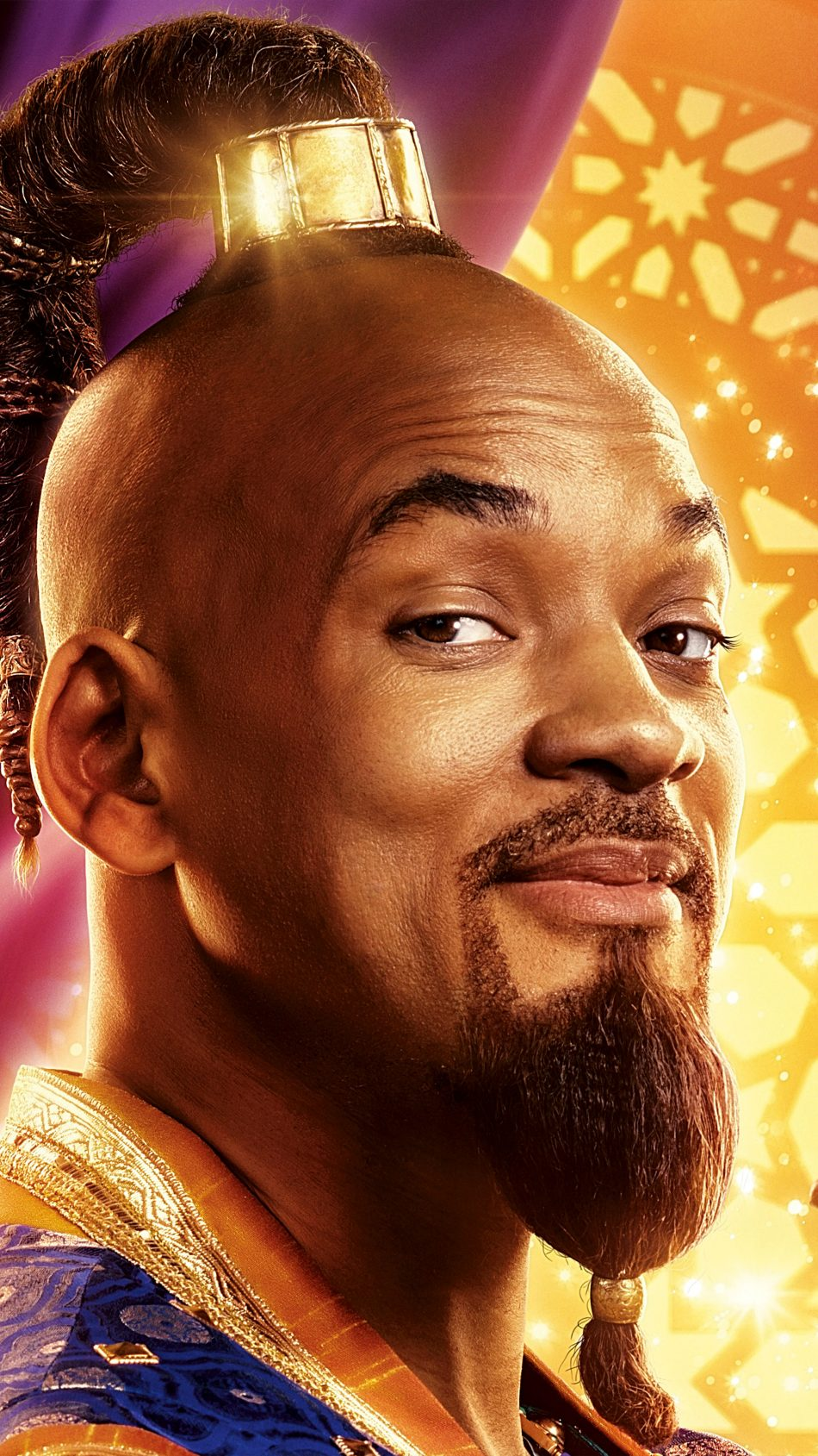 Download Best Quality Will Smith In Aladdin 2019 4K UHD Mobile 950x1689