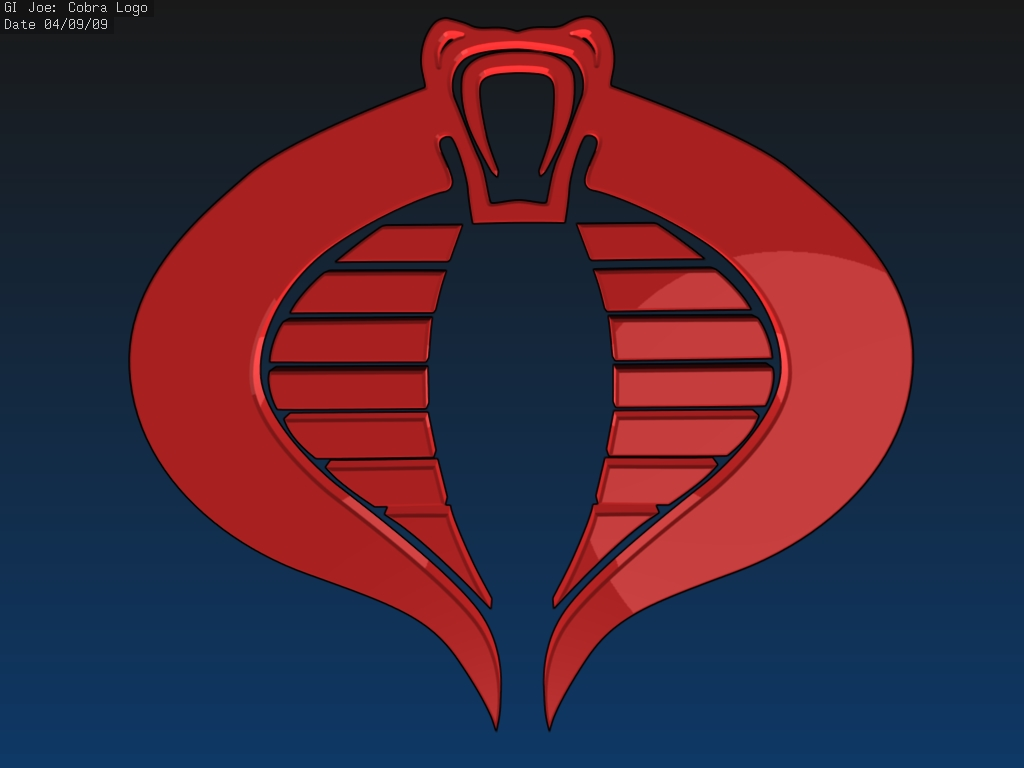Gi Joe Cobra logo by flightcrank 1024x768