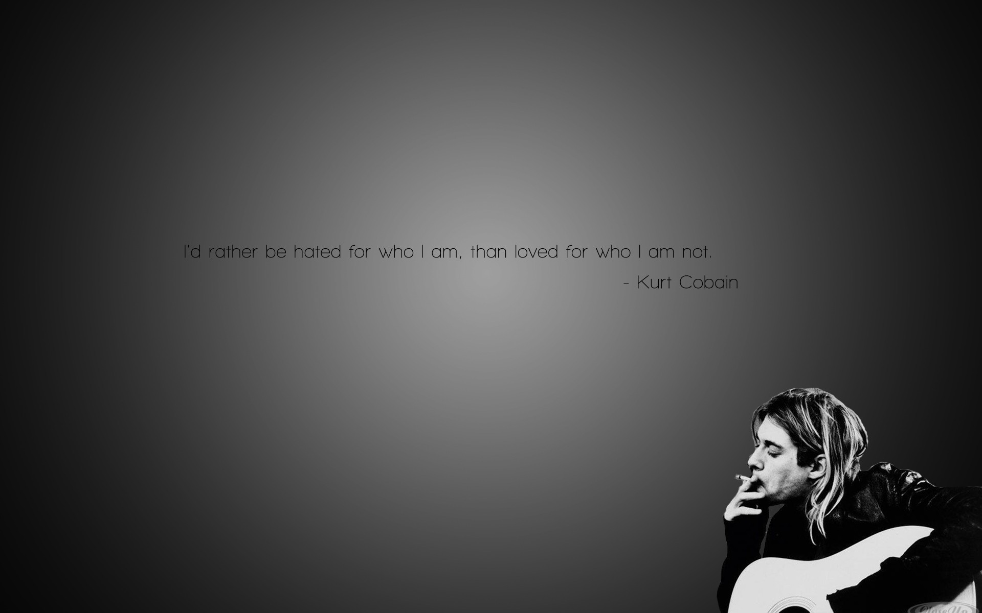 grunge quotes nirvana kurt cobain cigarettes wallpaper background 1920x1200