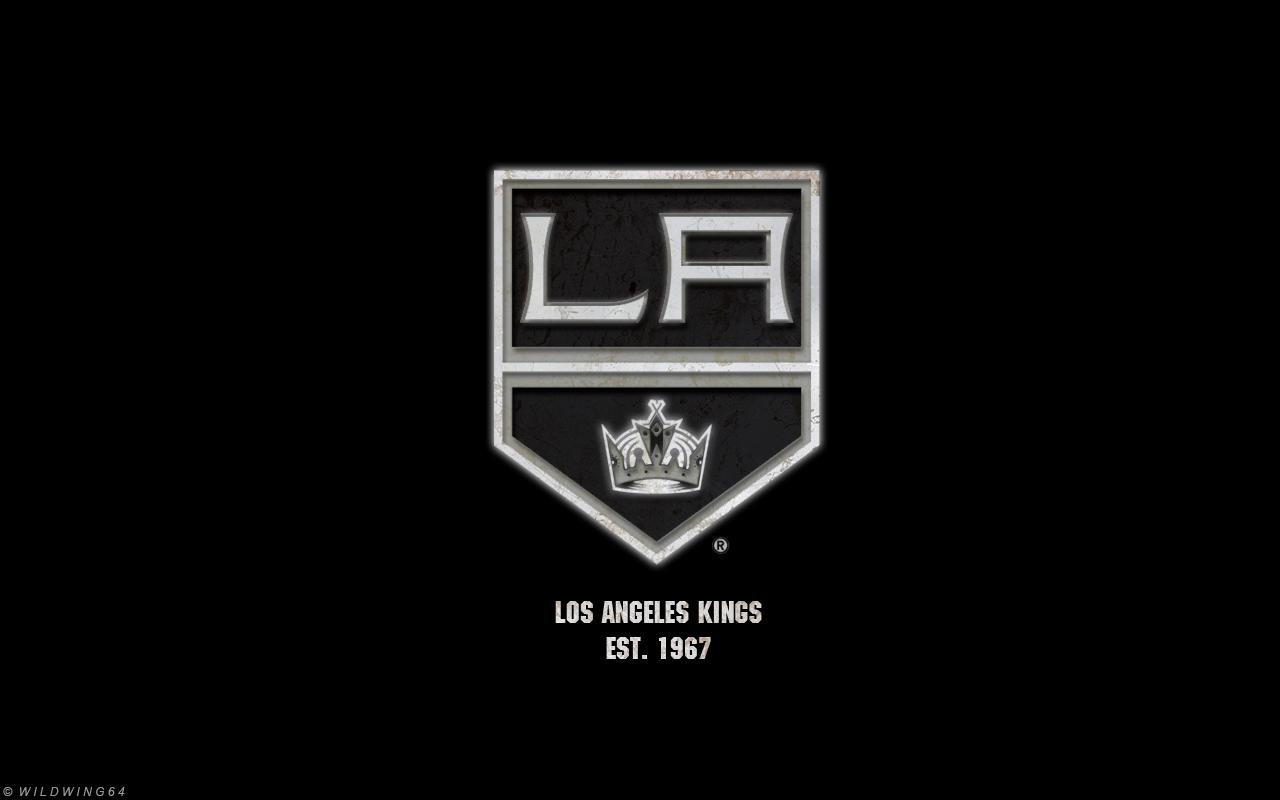 Los Angeles Kings   Metallic logo wallpaper by wildwing64 on 1280x800