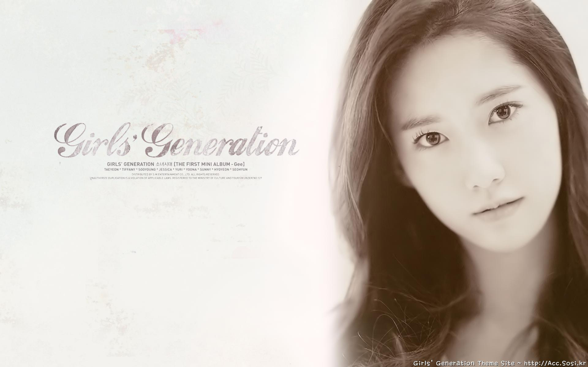 YoonA SNSD Girls HD Wallpapers Download 1920x1200